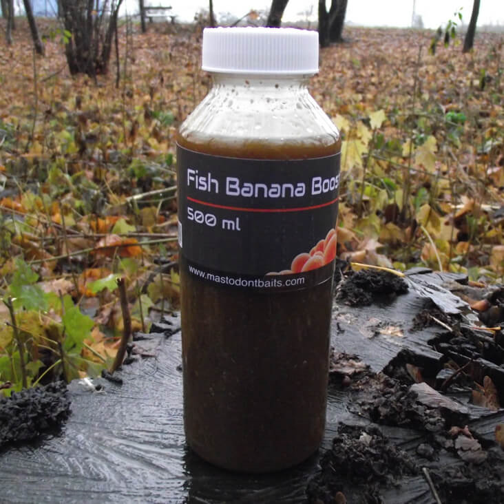 Mastodont Baits Booster Fish Banana 500ml