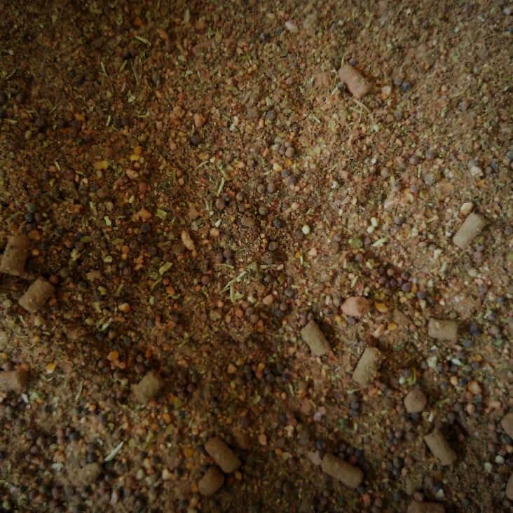 Mastodont Baits Method mix Bloody spice fish 3kg