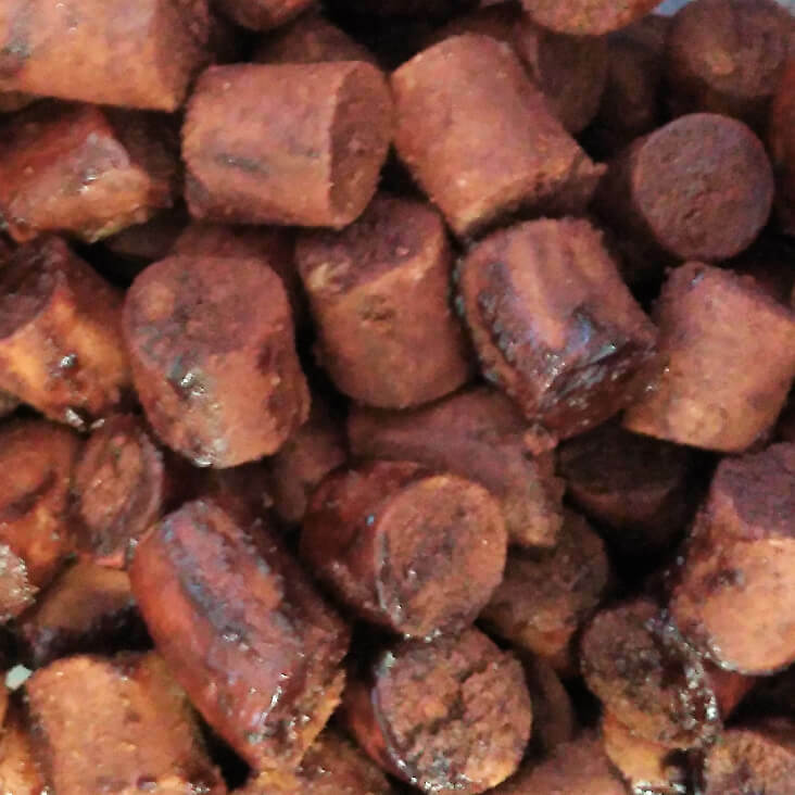 Mastodont Baits Carp pellets Red hole 10kg -20mm