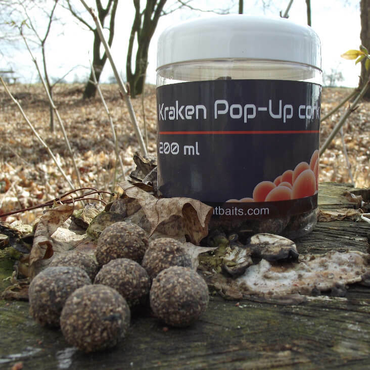 Mastodont Baits Pop-Up Boilies Kraken 16mm 200ml