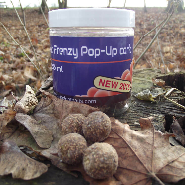Mastodont Baits Pop-Up Nut Frenzy 16mm 200ml