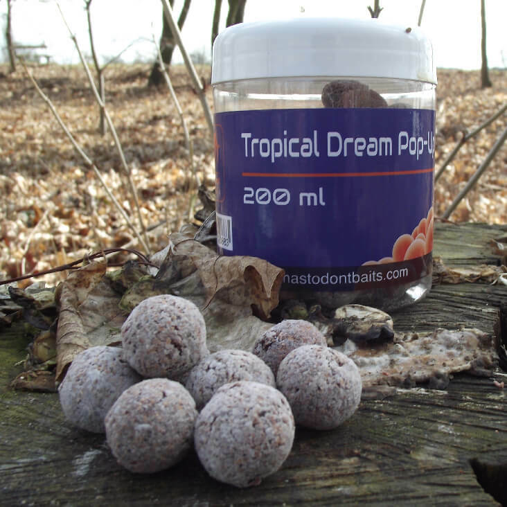 Mastodont Baits Pop-Up Boilies Tropical Dream 16mm 200ml